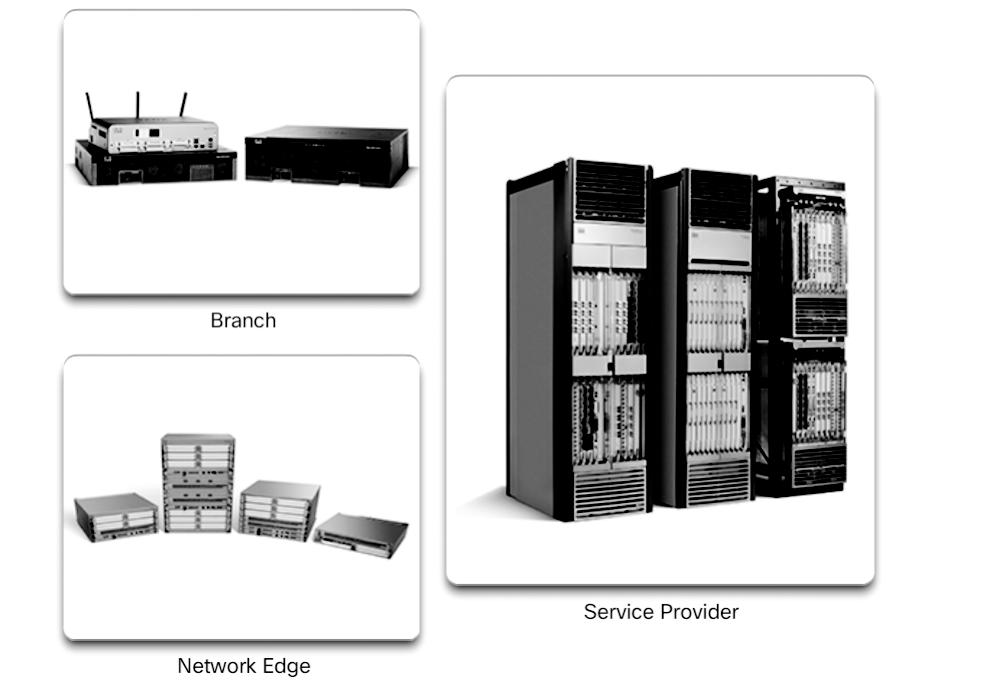 28 Scaling Networks v6 Companion Guide Figure 1-27 Router Platforms Network edge router Network edge routers enable the network edge to deliver high-performance, highly secure, and reliable services