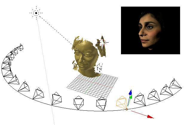 23 IEEE Conference on Computer Vision and Pattern Recognition Workshops Using 3D Models to Recognize 2D Faces in the Wild Iacopo Masi, Giuseppe Lisanti, Andrew D.