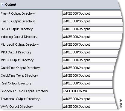 System Administration Chapter 9 Output (System Administration) Figure 9-10 shows Output settings.