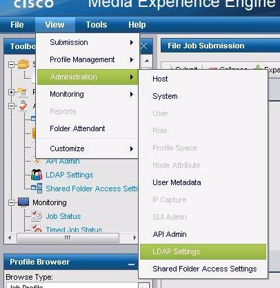 Chapter 9 LDAP Settings LDAP Settings Use the LDAP Settings page to configure LDAP settings. If LDAP is enabled, SUI user authentication is done with LDAP.