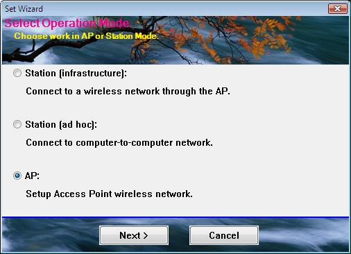 4. WLAN: Wireless LAN Management GUI 2.