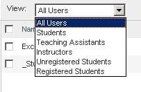 To deny student access to your course: 1. Select the checkbox next to the student(s) to whom you wish to deny course access. The Deny Access link on the taskbar becomes active. 2.
