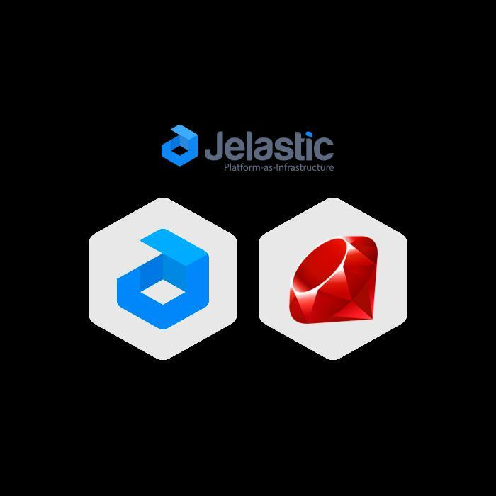 BENEFITS OF JELASTIC RUBY High-availability of Ruby apps Automatic vertical and horizontal scaling Zero code changes to deploy a standard application Full management of Ruby app
