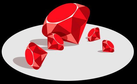 RUBY VERSION MANAGEMENT RVM is used as a standard version manager.