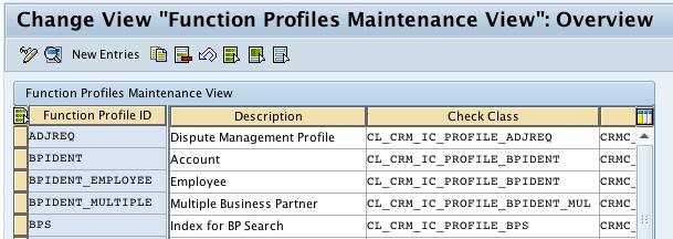 After you have defined the function profile, it needs to be assigned to a business role. You can assign several function profiles to a business role. For more information, see Define Business Role.