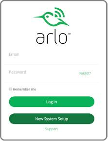 Set Up Your System Get an Account ¾ To set up an Arlo account: If you are using a mobile device that supports Touch ID, you are prompted to enable Touch ID or skip. 2.
