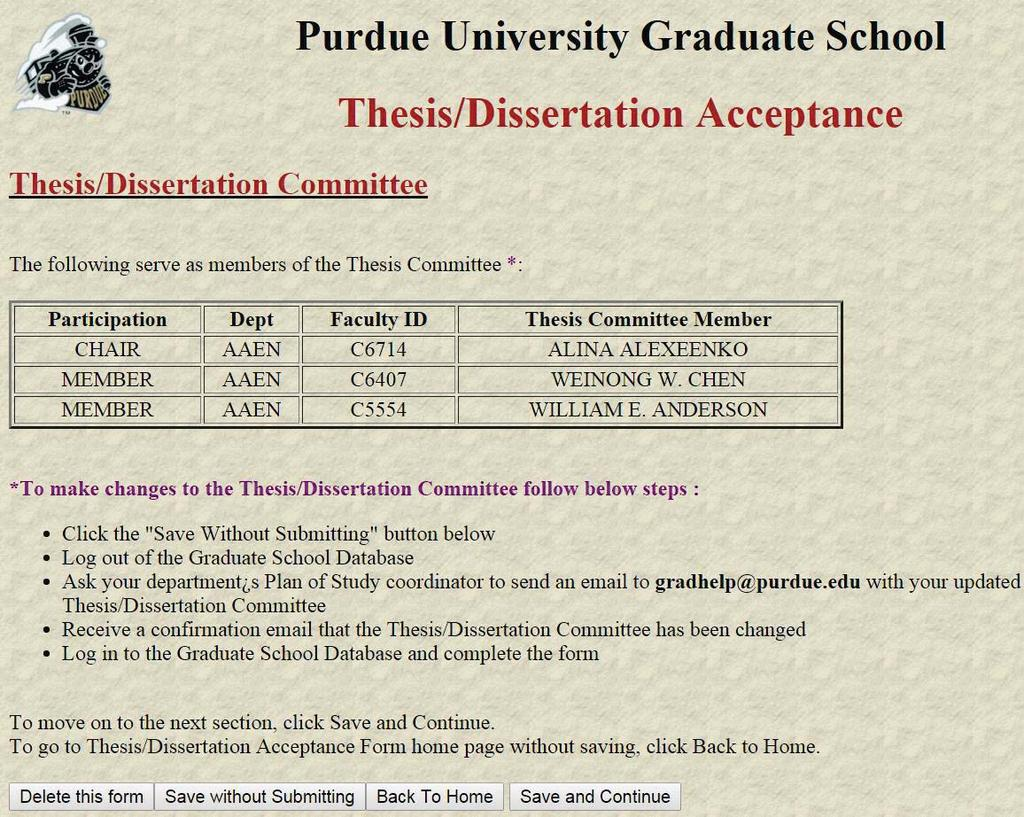purdue grad school thesis forms Purdue school of engineering and technology indiana university-purdue university indianapolis (iupui) department of mechanical engineering.