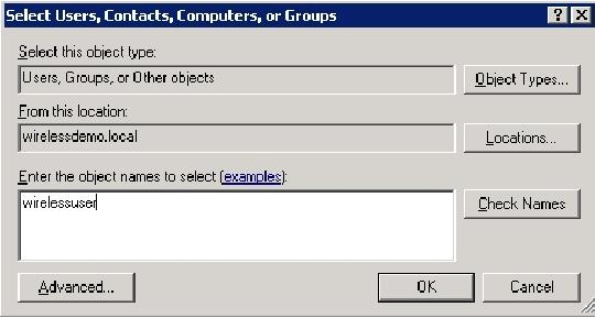 4. In the Multiple Names Found dialog box, click OK.