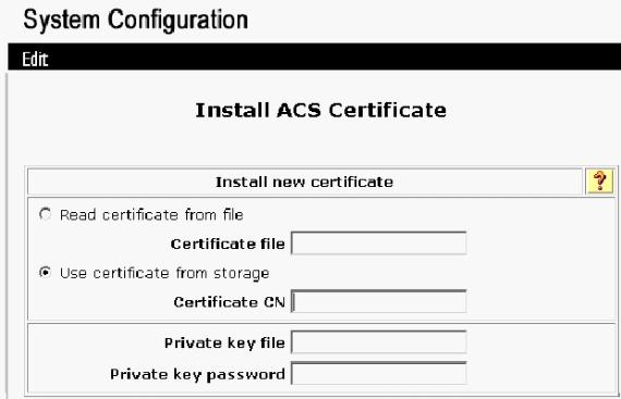 10. Choose Use certificate from storage and