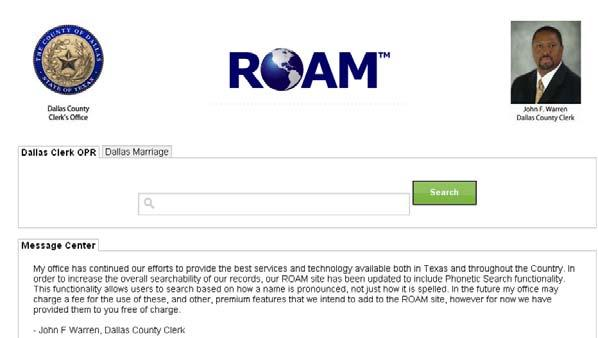 Introduction ROAM Rapid Online Access Method, is a robust, easy to use, enterprise data retrieval solution.