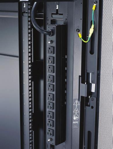4 kw, 15A - 50A, Horizontal or Vertical Mount) Horizontal Mount Mount in any 19 rack or enclosure.