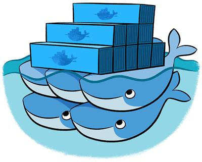Docker Swarm provides native clustering capabilities to turn