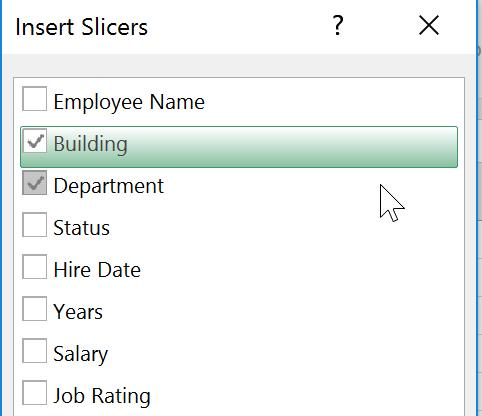 SLICERS IN PIVOTTABLES Slicers allow you to quickly filter PivotTables and Charts. 1.