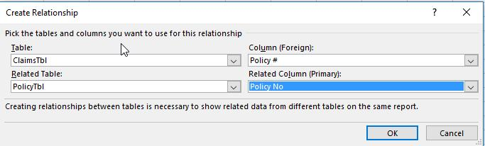 a. Data Tab >> Data Tools Group >> Relationships b.