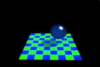 light source Otherwise, solve the Phong model to calculate the contribution of this ray to the color of the pixel