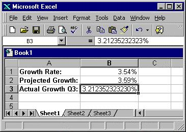 IX. Row & column autofit Excel rows and columns have a standard height and width.