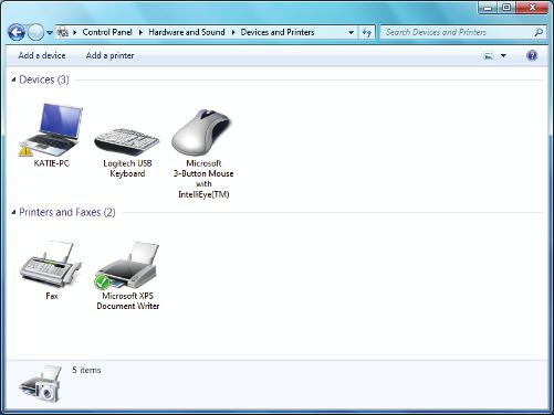 1 What s new with Windows 7 Windows 7 also has improved device-management features that enable you to easily connect, manage, and use any devices, such as printers, scanners, cameras, that are
