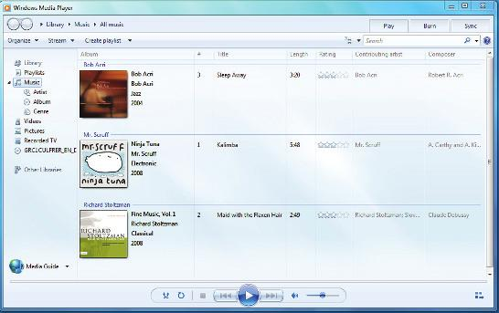 1 What you can do with Windows 7 Play music and other media. The Windows Media Player makes it easy to listen to audio CDs (and burn your own), play digital audio and video clips.