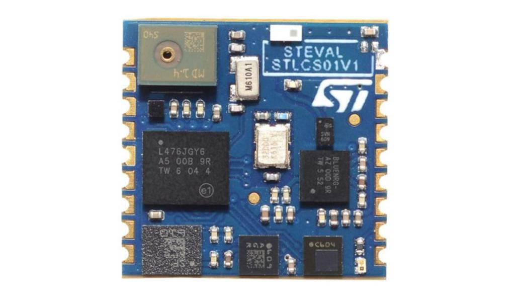 Boards included in the kit 2 Boards included in the kit Figure 2: STLCS01V1 board photo STLCS01V1 SensorTile component board features Very compact module for motion, audio and environmental sensing