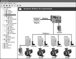Presentation 3 PowerSuite software workshop 3 5389 Presentation The PowerSuite software workshop, for PC or Pocket PC, is designed for setting up Telemecanique starters and variable speed drives.