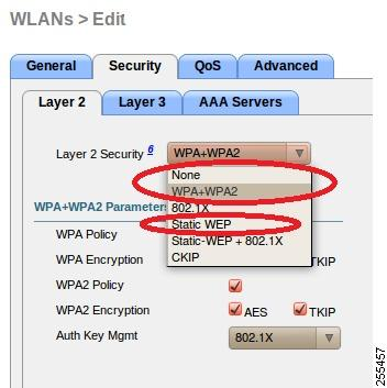 WLAN Security Settings for the 600 Series OfficeExtend Access Point Access Point.