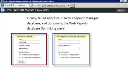 Configure HTTPS IBM Endpoint Manager Analytics administrators can configure SSL and the TCP ports from the Management/Serer Settings section of the web