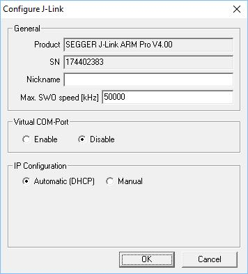 number) simply select Real SN as USB identification method and click the OK button.