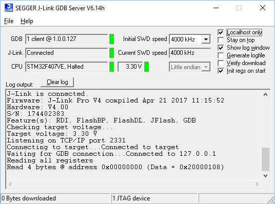 58 CHAPTER 3 3.3 J-Link GDB Server J-Link GDB Server The GNU Project Debugger (GDB) is a freely available and open source debugger.