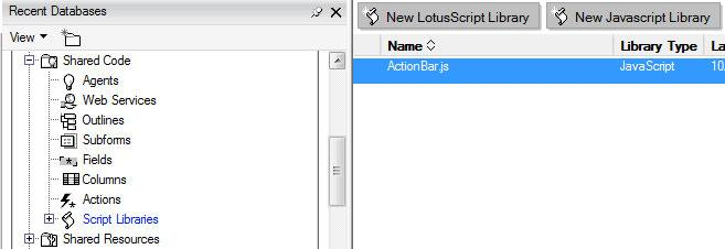 JavaScript To add a library, click the New Javascript Library button: A page opens up.