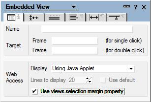 You can hide the views with HTML from Notes clients using the Design tab of Design Properties for the view. Likewise, you can hide the views without HTML from Web clients.