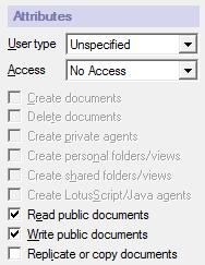 Security and Performance In the application's ACL, enable Anonymous to read and write public documents.