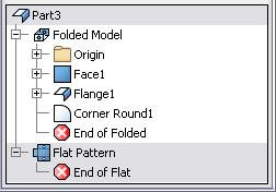 idw template file. 13. To place a flat pattern view in your drawing: Click Place Views tab > Create panel > Base.
