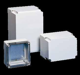 763.422.2600 Spec-00410 E763.422.2211 Polycarbonate and ABS QLINE E Polycarbonate and ABS QLINE E QLINE E, Type 4X INDUSTRY STANDARDS Polycarbonate Enclosure UL 8A Listed; Type 4, 4X, 6, 12, 13; File No.