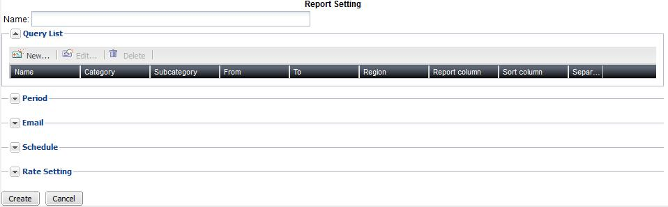 To view and configure report profiles 1. Go to Log & Report > Call Report > Call Report.