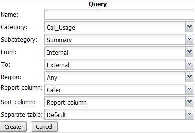 Configuring the report query selection When configuring a report profile, you can select the queries that define the subject matter of the report.