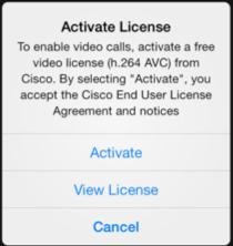 calls will work Third parties that use the SDK for ios in their apps