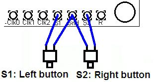 5. Connections The pin-spacing is 0.1-inches and a suitable connector could be used (see section above). These connections are further described in the following sections.
