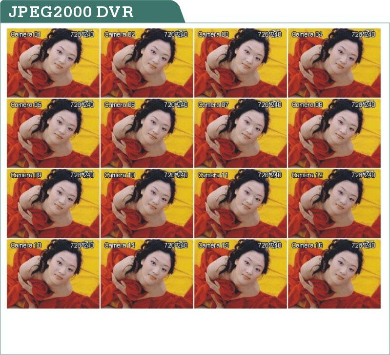 JPEG2000 DVR vs.