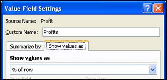 Structure the PivotTable as shown below by dragging Rating into the Column Labels box, Year into the Row Labels box, and Profit into the Values box. 2. Change the grouping on Year to Months.