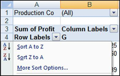 Manually Arrange To manually place the columns or rows in any desired order, follow the steps below. 1.