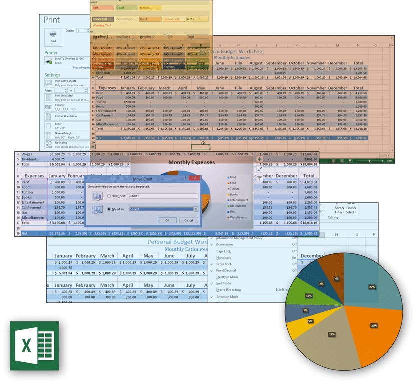 Microsoft Excel 2013 Chapter 1