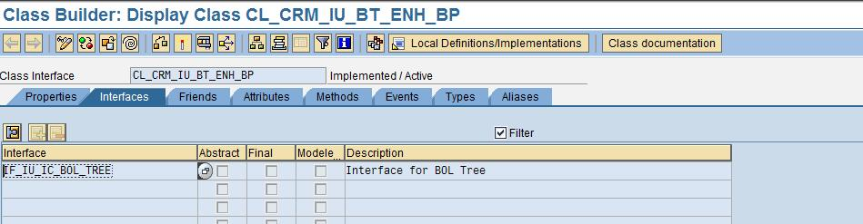 Custom Development Associated with BOL Tree In addition to these attributes shown above on a node, there are four other flags available on each tree node which define the behavior of the node display.