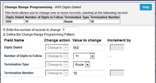 ARS Digits Dialed ARS initiates the routing of trunk calls when certain digits are dialed from a station.
