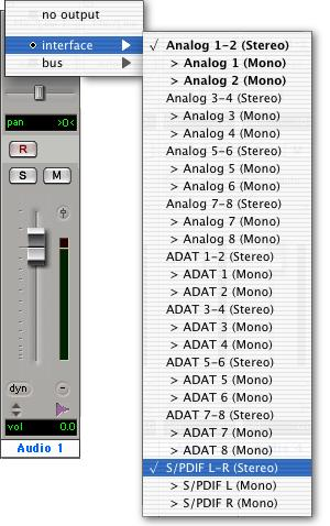 To record an alternate sound source directly into Pro Tools: 1 Connect the outputs of the external device to the left and right Alternate Source Inputs on the back panel of Digi 002 or Digi 002 Rack.