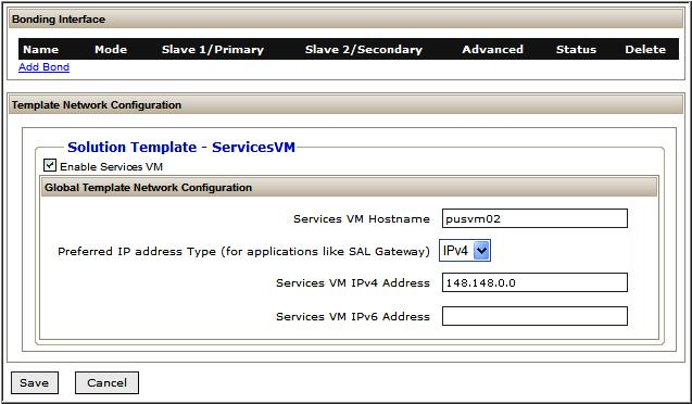 Administering Services-VM through the System Platform Web Console CAUTION: CAUTION:!