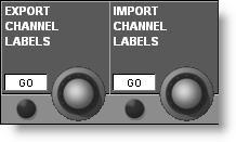 reduction metering is now shown on the output meters on the main screen, allowing this to be seen when the VCA masters are on the centre fader bay Delay controls on Input and Output channels now have