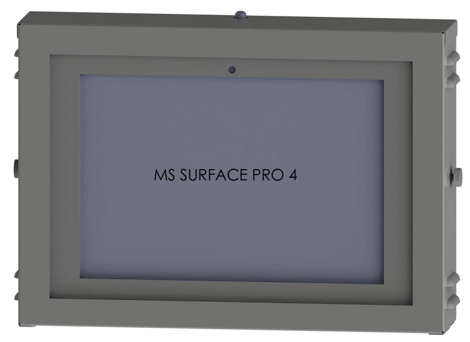 1-of-9 PRODUCT SPECIFICATIONS PN 80923-MSPRO4 is designed to support the MICROSOFT SURFACE PRO 4 (11.50 x 7.93 x.