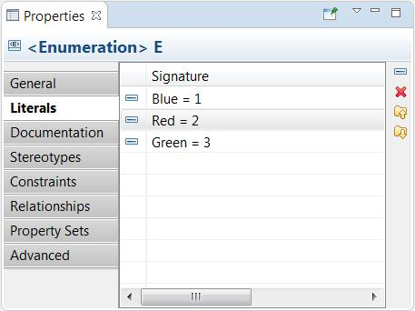 Similar to how operations and attributes are edited The context menu provides