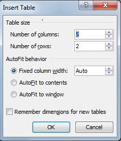 2) On the Insert tab, in the Tables group, click Table, point to Quick Tables, and then click the template that you want.