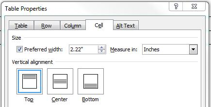 On the Row tab, select the Specify height check box and then enter the height you want.